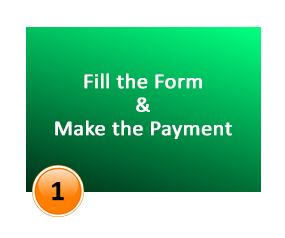 fill the from make the payment